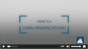 Loan Modification (Video)